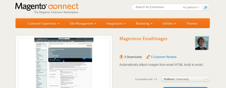 Magento - extension EmailImages